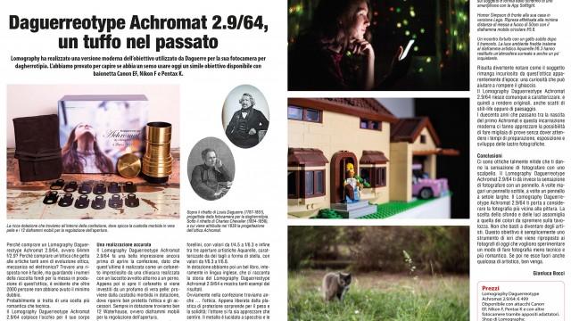 Daguerreotype Achromat 2.9/64, un tuffo nel passato