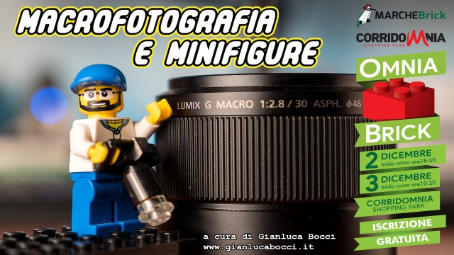 Macrofotografia e Minifigure