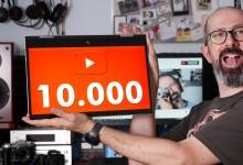 10.000 iscritti su YouTube!