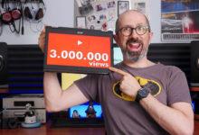 3.000.000 visualizzazioni su YouTube!