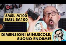 SMSL M100 + SMSL SA100: DIMENSIONI MINUSCOLE, SUONO ENORME!