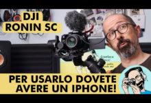 DJI RONIN SC: PER USARLO DOVETE AVERE UN IPHONE!