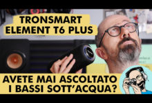 TRONSMART ELEMENT T6 PLUS: AVETE MAI ASCOLTATO I BASSI SOTT'ACQUA!