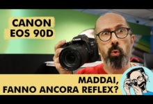 CANON EOS 90D: MADDAI, FANNO ANCORA REFLEX?