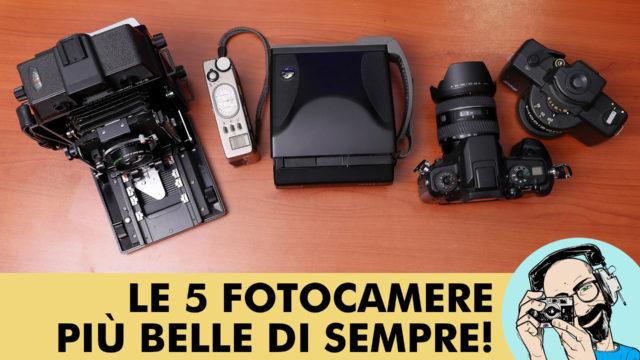 LE CINQUE FOTOCAMERE PIÙ BELLE DI SEMPRE!