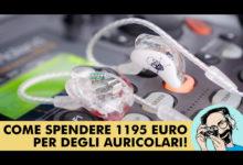 ARIA SOUNDS PORTAMENTO CUSTOM FIT: COME SPENDERE 1195 EURO PER DEGLI AURICOLARI!