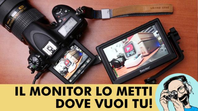 Desview Mavo-P5: il monitor lo metti dove vuoi tu!