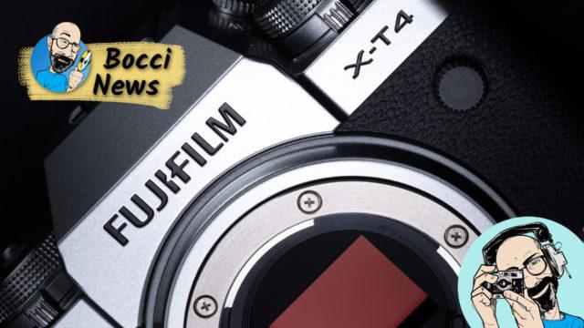 Fujifilm X-T4, possiamo dire addio alla Fujifilm X-H1!