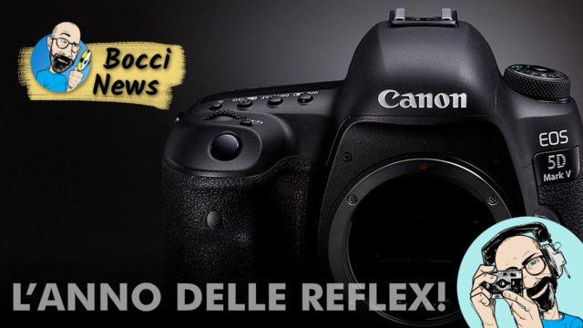 Canon EOS 5D Mark V: questo 2020 è davvero l'anno delle REFLEX!
