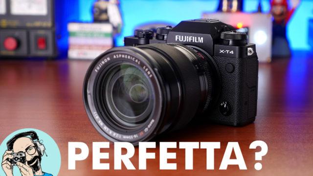 Fujifilm X-T4: la mirrorless APS-C perfetta?