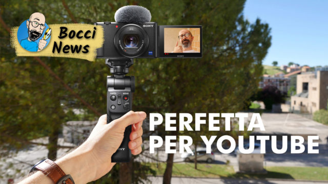 Sony ZV-1: PERFETTA per YOUTUBE!
