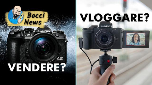Olympus ha VENDUTO la sezione foto e anche la Panasonic Lumix G100 si dedica ai VLOG!
