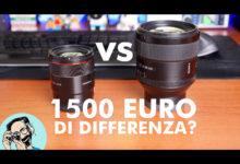 Samyang 75/1.8 vs Sony 85/1.4: si vedono i 1500 Euro di differenza?